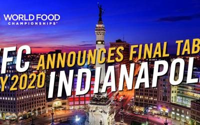 World Food Championships Announce Details of 2020 Final Table