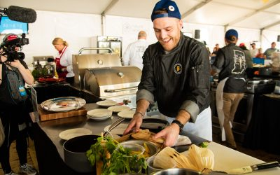Chef Justin Miller highlighted by Visit Hamilton County